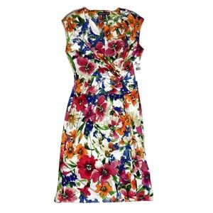 American Living NWT Floral Sheath Dress Wiggle 12